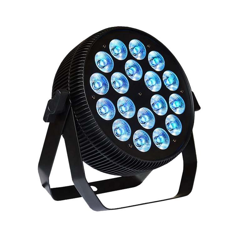 18X12W 4in1 5in1 6in1 silm flat wash par lights