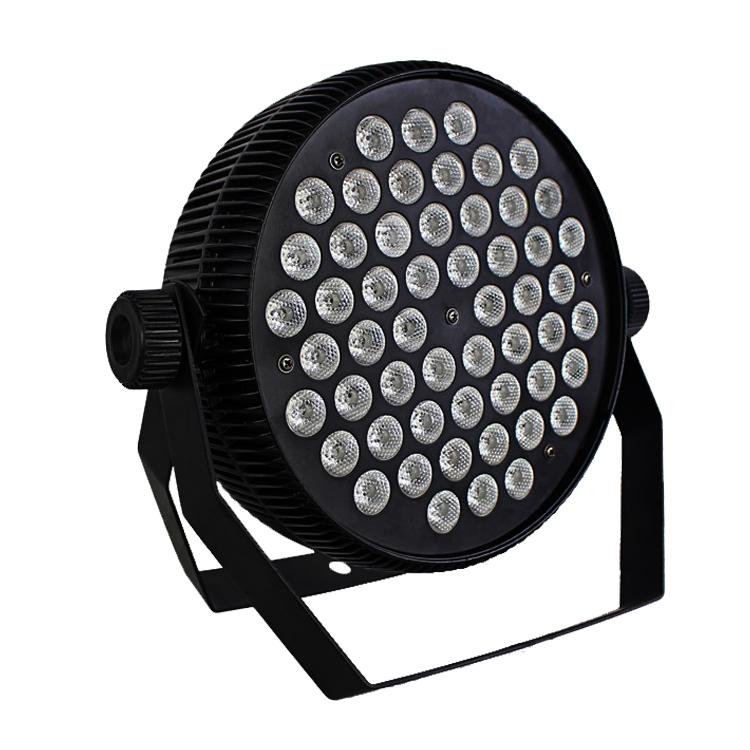 54X3W 3in1 rgb/rgbw silm flat wash par lights led