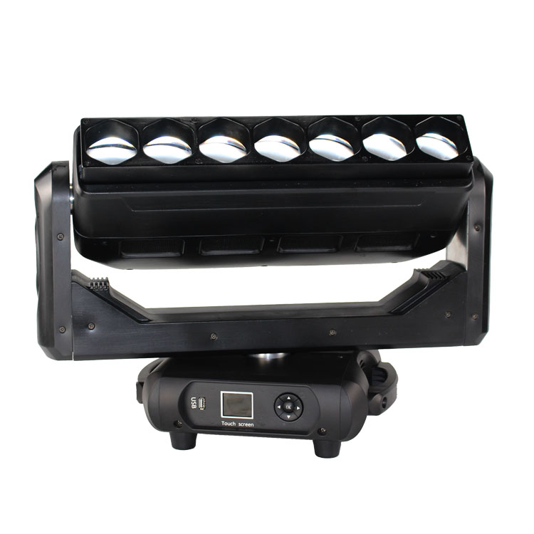 7x40 4-in-1 zoom wash LED moving head Bar moving head