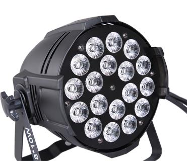 18x12w 4in1 5in1 6in1 wash par lights