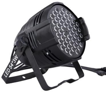 54X3W 3in1 rgb/rgbw wash par lights led