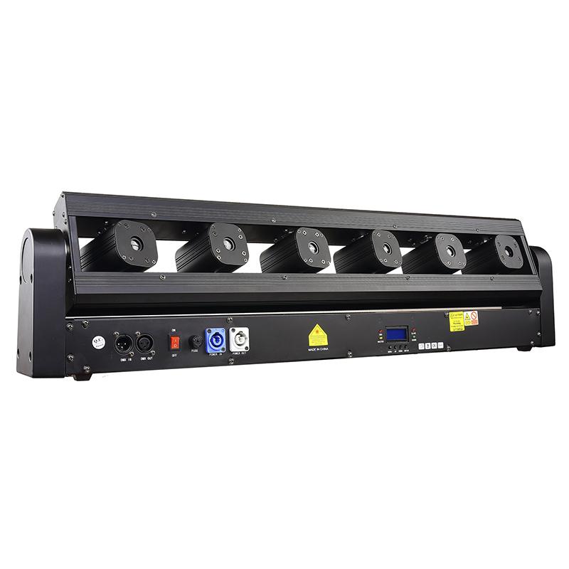 6 head laser lights